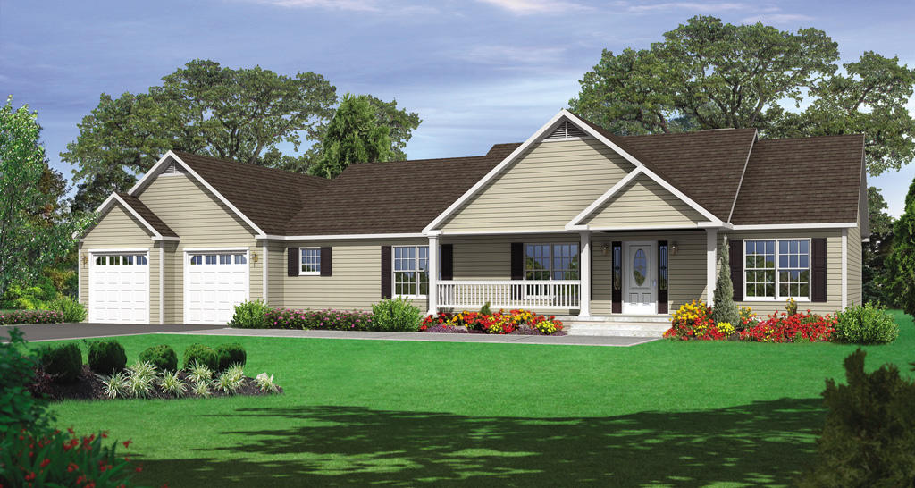 Lovely New Construction Ranch Homes 9