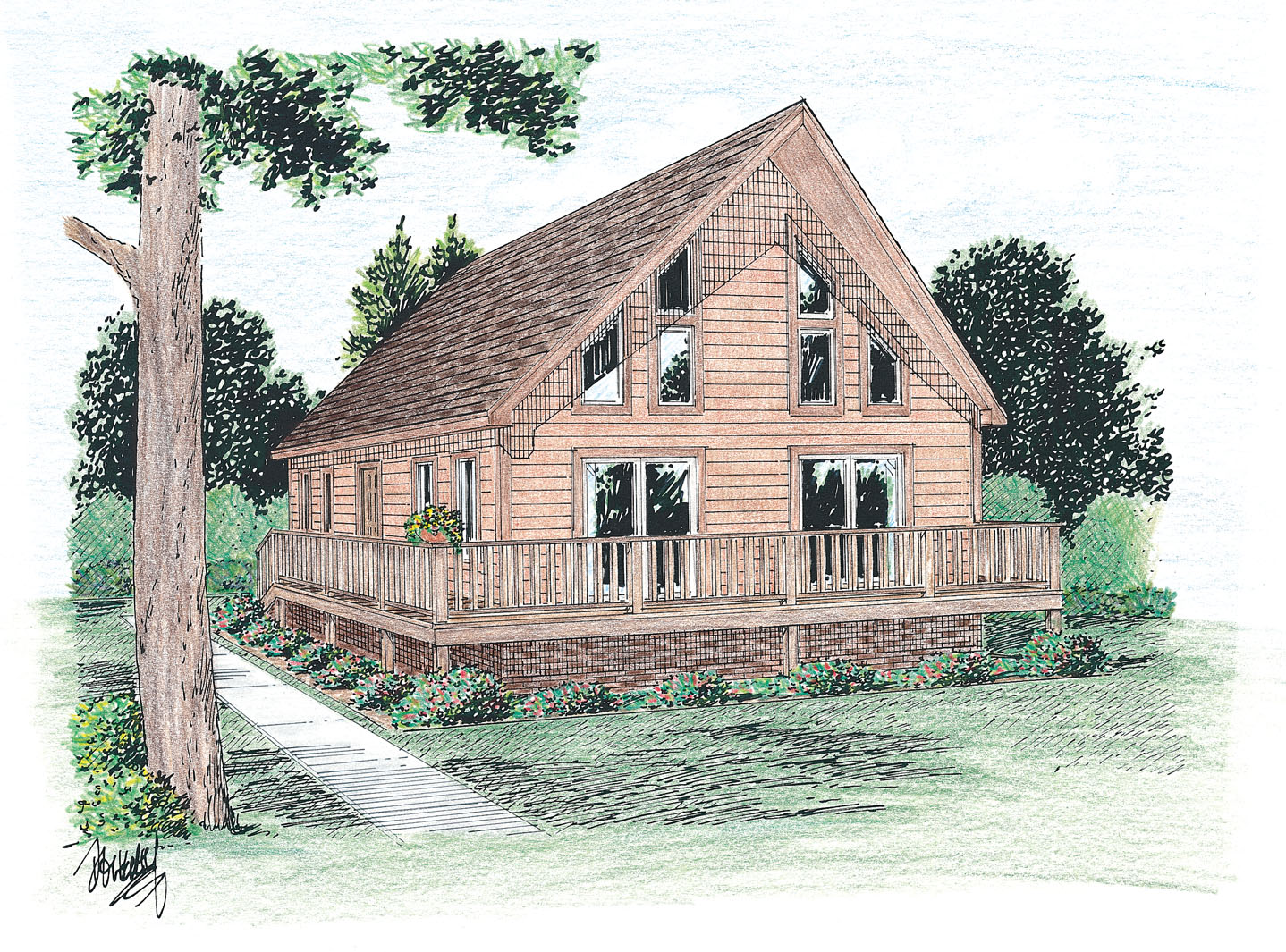 Grafton mountain modular homes inc new home models for Cape cod model homes